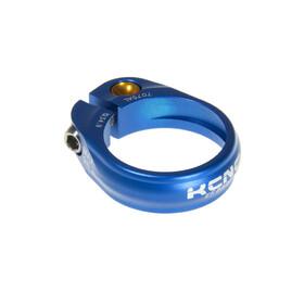 KCNC Road Pro Sattelklemme Ø31.8 mm blau